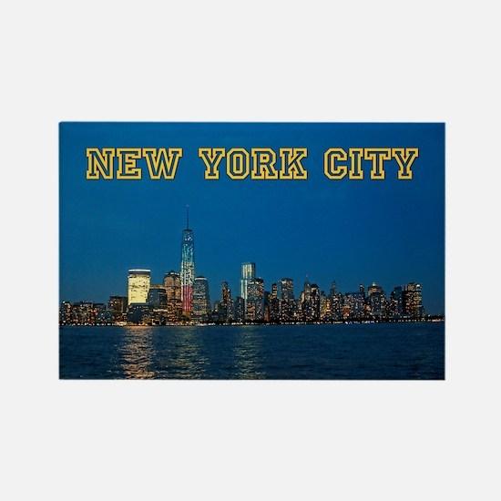 New! New York Skyline - Pro Photo Rectangle Magnet