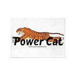 Power Cat 5'x7'area Rug