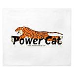 Power Cat King Duvet