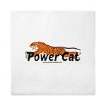 Power Cat Queen Duvet