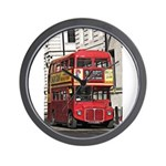 Vintage Red London Bus Wall Clock