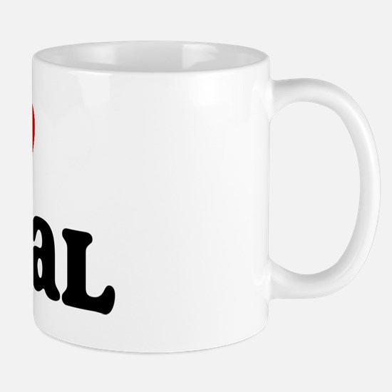 I Love Futsal Mug
