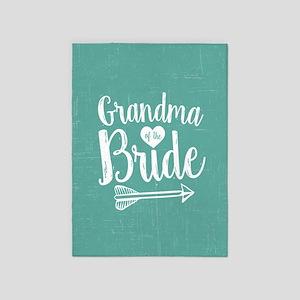 Grandma of Bride 5'x7'Area Rug