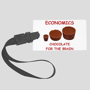 economics Luggage Tag