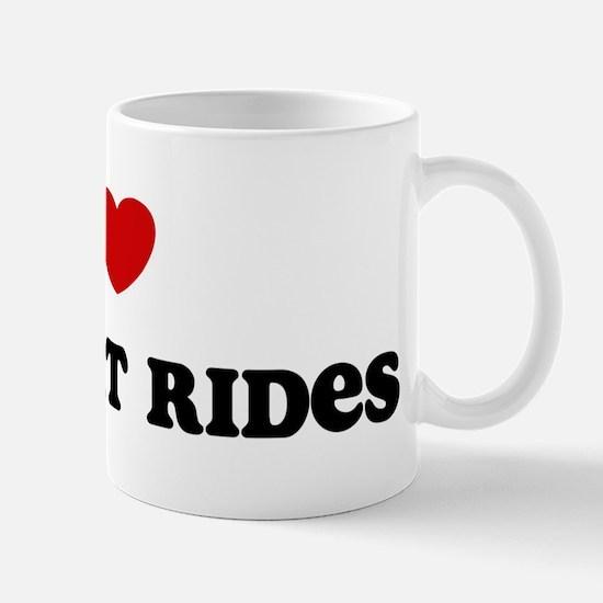 I Love Jet Boat Rides Mug