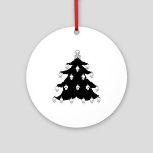 YO CHRISTMAS TREE YO CHRISTMAS TREE Ornament (Roun