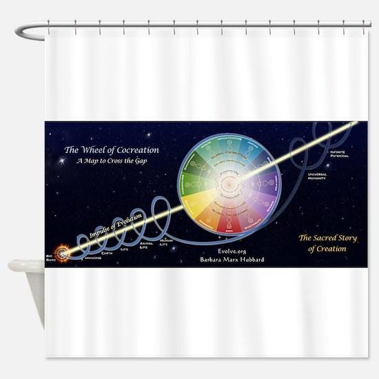 Wheel of Co-Creation - Barbara Marx Hubbard Shower
