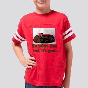 log Youth Football Shirt