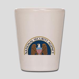 NSA Monitored Device Shot Glass