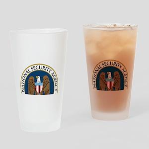 NSA Monitored Device Drinking Glass