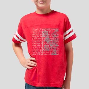 judgement light Youth Football Shirt