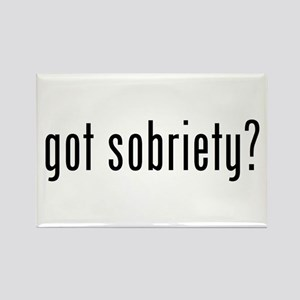 got sobriety? Rectangle Magnet