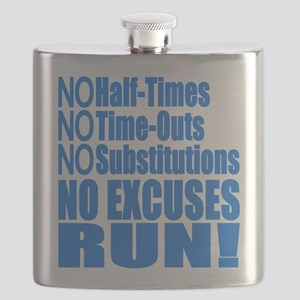 No Half Times, Time Outs, Subs Running Flask
