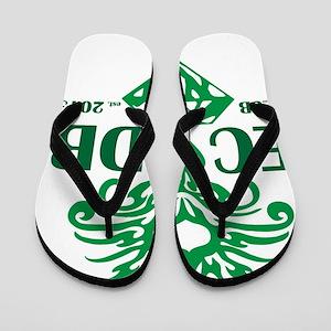 942e984467ae Emerald City Dragon Boat Club Flip Flops