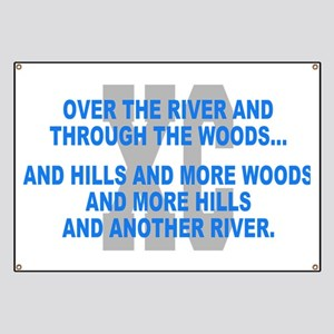 Over the River Cross Country Quote Banner