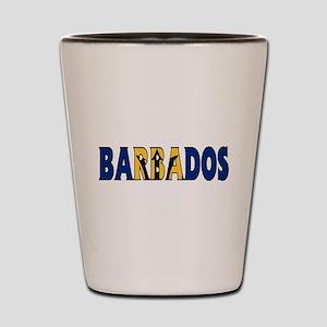 Barbados Shot Glass