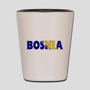 Bosnia Shot Glass