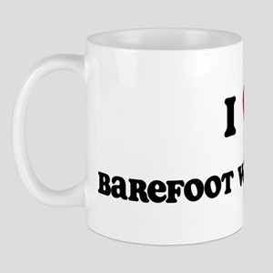 I Love Barefoot Water Skiing Mug