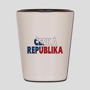 Czech Shot Glass
