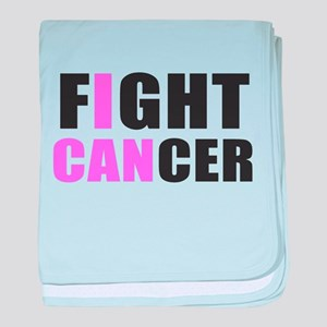 Fight Cancer baby blanket