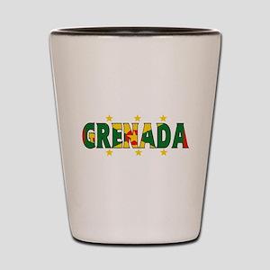 Grenada Shot Glass