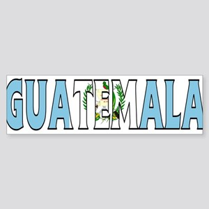 Guatemala Bumper Sticker