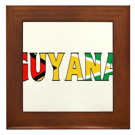 Guyana Framed Tile