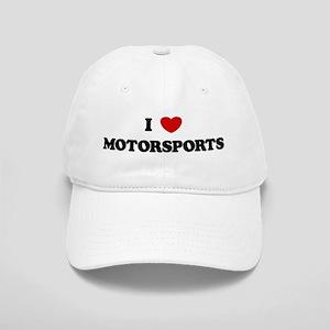 I Love Motorsports Cap
