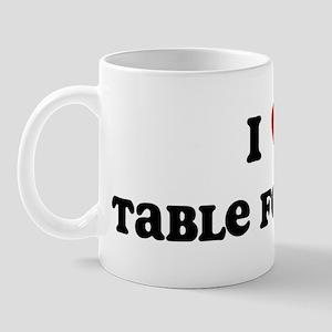 I Love Table Football Mug