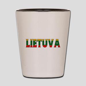 Lithuania Shot Glass