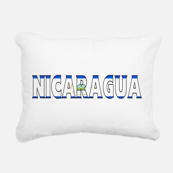 Nicaragua Rectangular Canvas Pillow