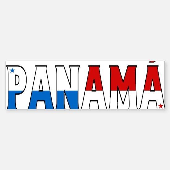 Panama Bumper Bumper Bumper Sticker