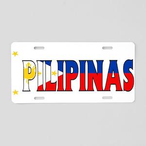 Phillipines Aluminum License Plate