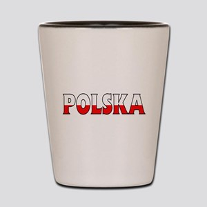 Poland Shot Glass