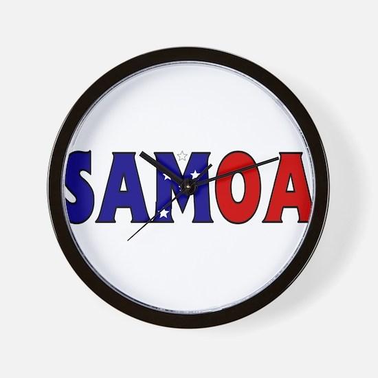 Samoa Wall Clock