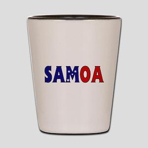 Samoa Shot Glass