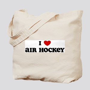 I Love Air Hockey Tote Bag