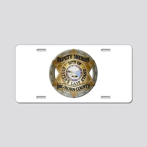 Big Horn County Sheriff Aluminum License Plate