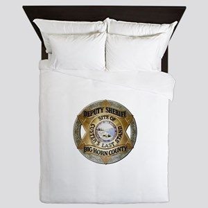 Big Horn County Sheriff Queen Duvet
