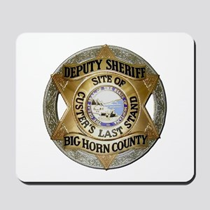 Big Horn County Sheriff Mousepad