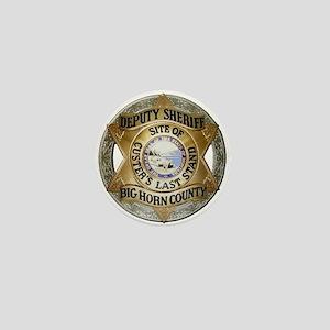Big Horn County Sheriff Mini Button