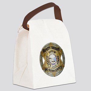 Big Horn County Sheriff Canvas Lunch Bag