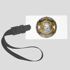 Big Horn County Sheriff Luggage Tag