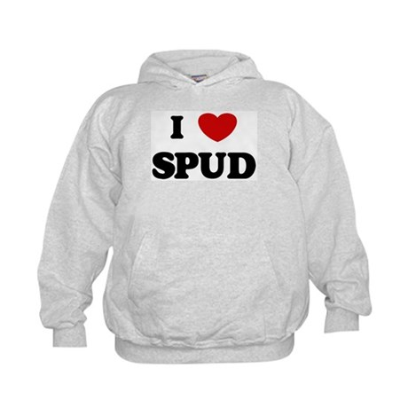 I Love Spud Kids Hoodie