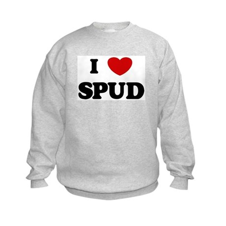 I Love Spud Kids Sweatshirt