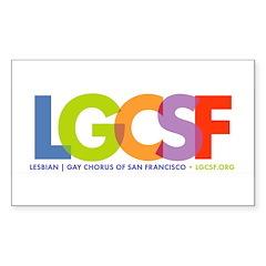 logo with tagline Decal