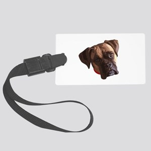 Boxer face 002 Luggage Tag