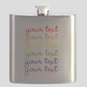 roygbiv cursive Flask