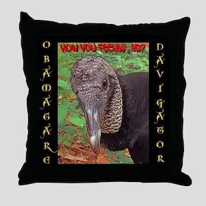 ObamaCare Navigator Throw Pillow