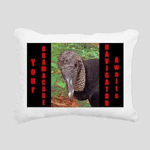 ObamaCare Navigator Rectangular Canvas Pillow